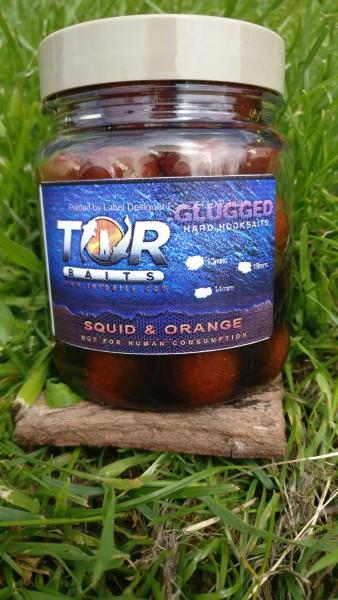 Glugged hook Baits in hemp oil